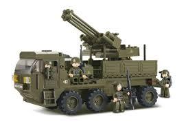 Sluban, τουβλάκια τα μόνα με στρατιωτικά αυτοκίνητα, ελικόπτερα, φόρμουλες