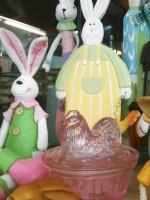 Χειροποίητες λαμπάδες για μεγάλους και παιδιά (φτιαγμένες στην Ελλάδα), διακοσμητικά πήλινα κουνελάκια, παπάκια και άλλα για το Πάσχα, αυγά από φενιζόλ για Πασχαλιάτικες χειροτεχνίες.